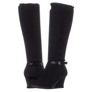Lauren Ralph Lauren Tula knee-high wedge boots